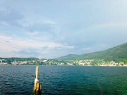 Traunsee in Upper Austria