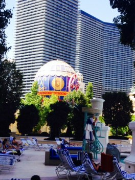 The Paris Hotel Casino in Vegas