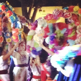 Dancers at the Dia de Los Muertos in Sacramento, CA