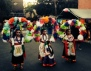 Dancers in Costume at Dia de los Muertos